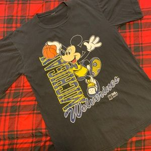 Vintage Disney Streetwear Tee T-Shirt Michigan XL